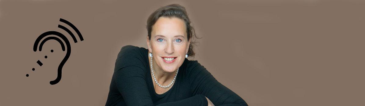 Interviews zum Anhören und Ansehen mit Antje Heimsoeth