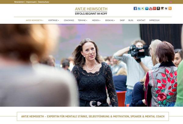Speaker Antje Heimsoeth - Expertin für mentale Stärke, Selbstführung und Motivation