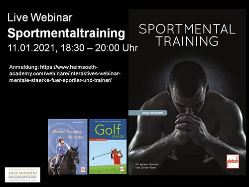 Interaktives Live Webinar Sportmentaltraining