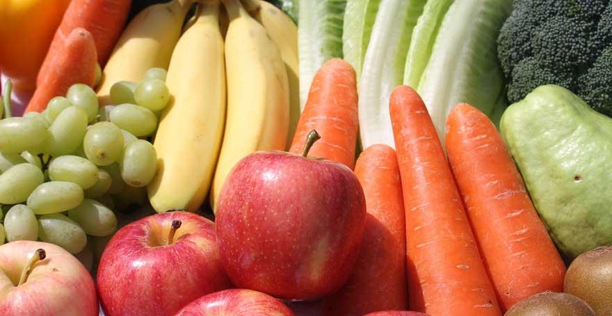 Gesundheit - Obst und Gemüse machen glücklich