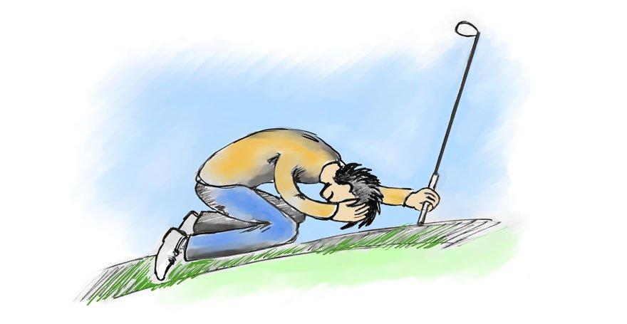 Golf mental - Die größten Fehler, die ein Golfer machen kann, u.a. Fokus auf das Ergebnis - Antje Heimsoeth