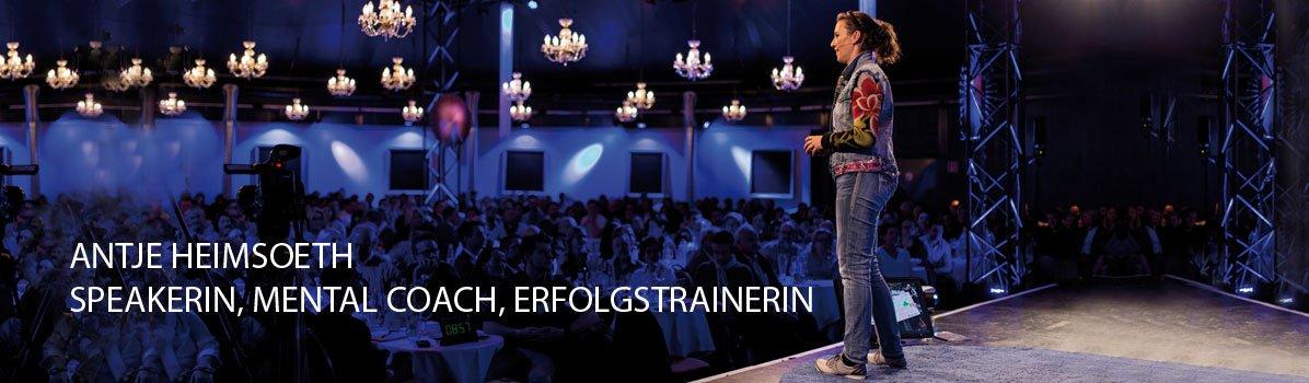 Vortragsredner / Keynote Speaker / Redner werden - Antje Heimsoeth