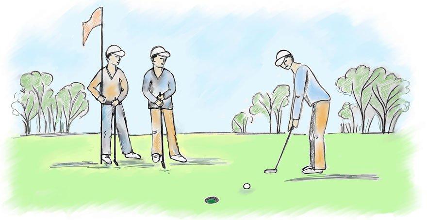 Golf - Affirmationen - Antje Heimsoeth