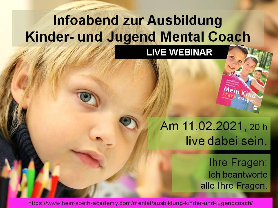 Kinder Mental Coach - Infoabend