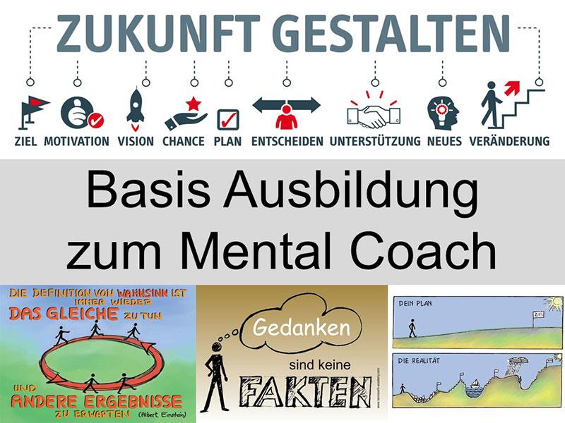 Basis Ausbildung zum Mental Coach