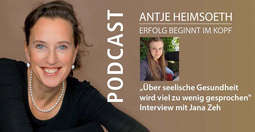 """""""Über seelische Gesundheit wird viel zu wenig gesprochen"""" – Interview mit Jana Zeh"""