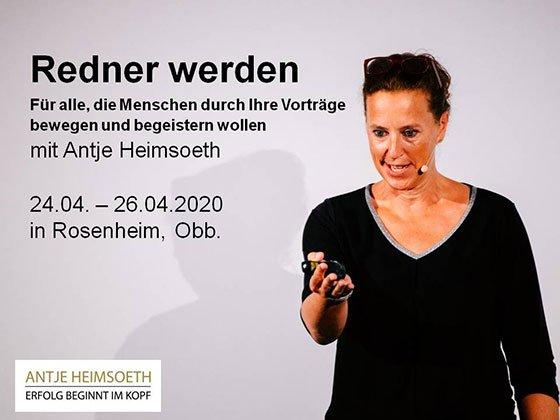 Redner werden / Speaker werden: Fallen - Antje Heimsoeth