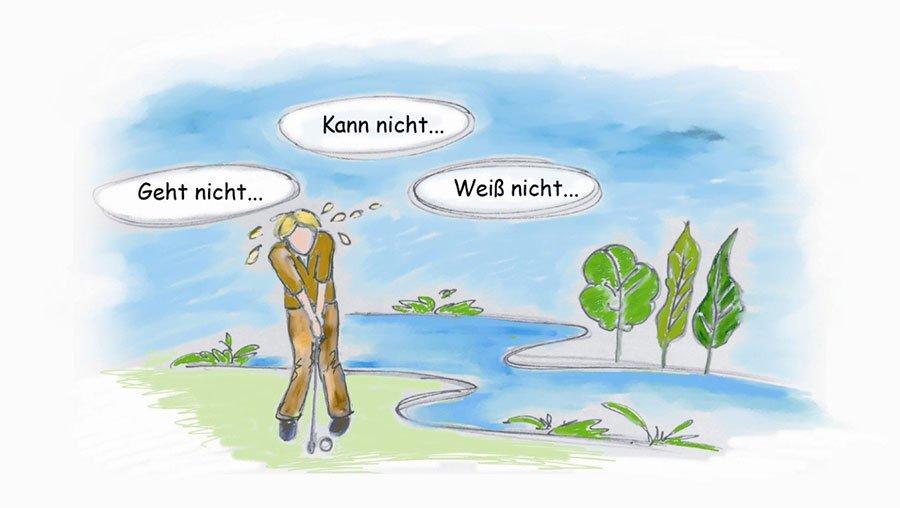 Golf mental: Wie Sie Ihr bestes Golf spielen