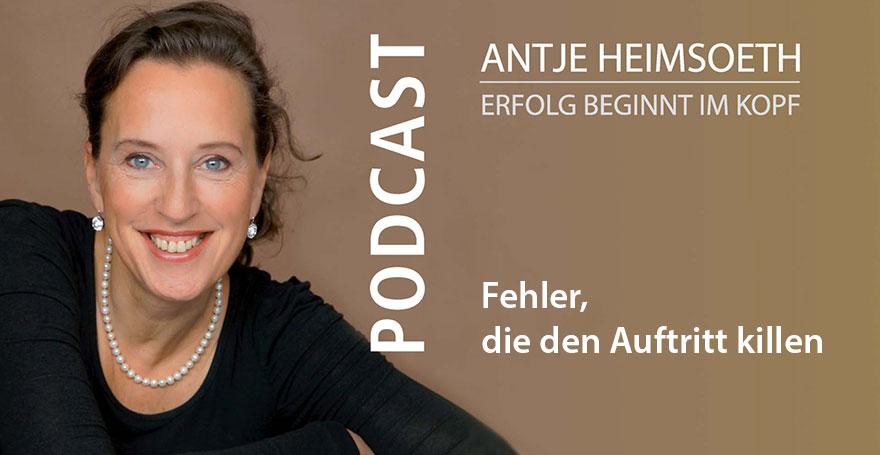 Podcast: Redner werden I Was kostet Sie Glaubwürdigkeit - Antje Heimsoeth