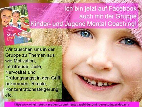 Kinder- und Jugend Mental Coaching - FB Gruppe