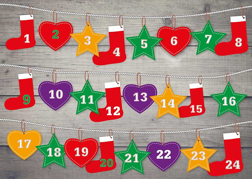 Adventkalender: 2 Minuten Selbstreflexion & Selbstliebe täglich - Antje Heimsoeth