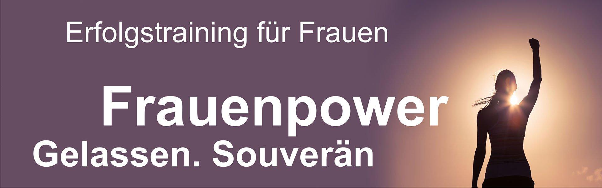 Live Online-Training: Frauenpower - Mentale Stärke für Frauen - Antje Heimsoeth