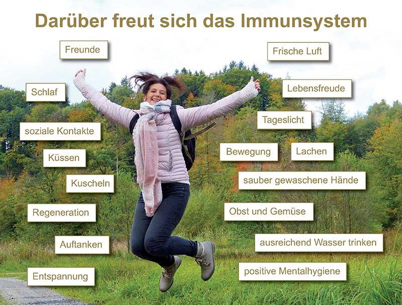Darüber freut sich das Immunsystem - Antje Heimsoeth