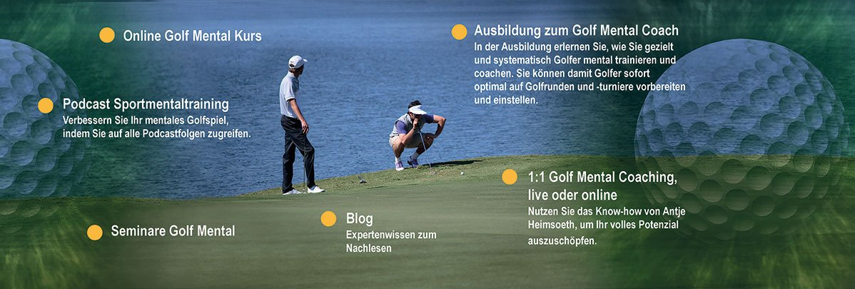 Golf Mental Training Coaching - Antje Heimsoeth