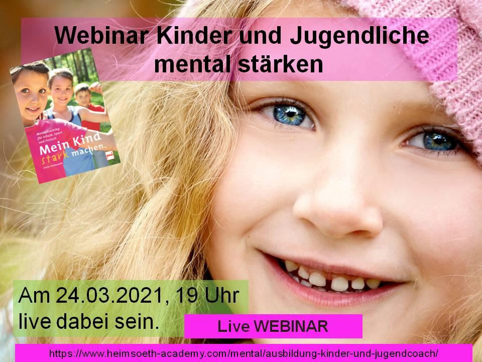 Kinder mental stärken - Webinar