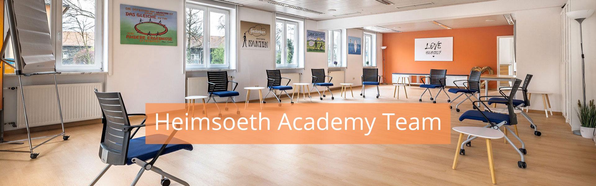 Heimsoeth Academy – Das Team