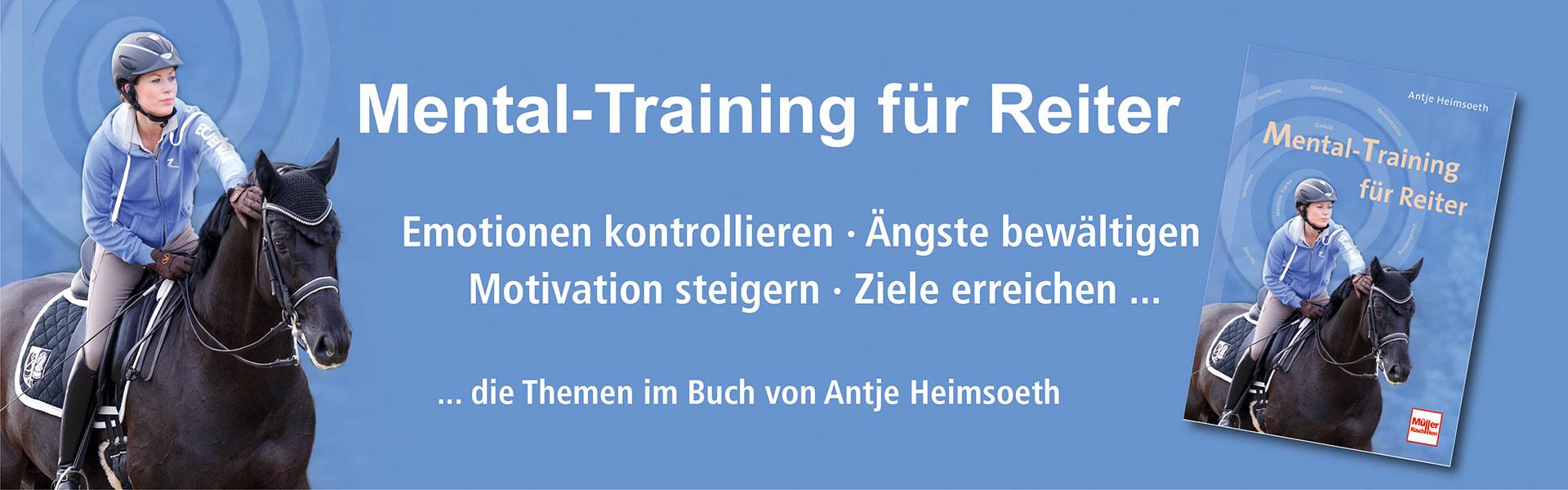 Live Online Seminar Reiten im Kopf® – Mentale Stärke für Reiter & Trainer